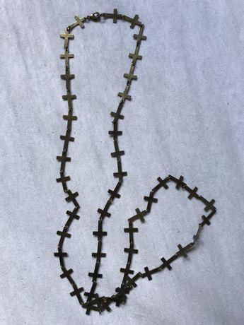 Naszyjnik krzyże krzyżyk Pull&Bear