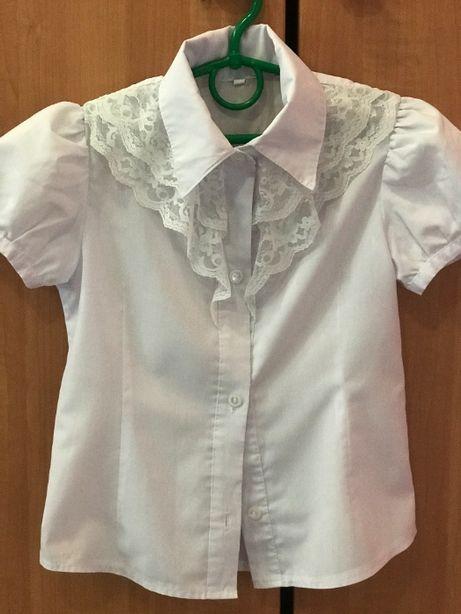 школьная красивая блузочка