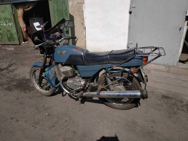 Ява 638 с коляской