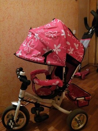 Срочно! Велосипед-коляска для девочки