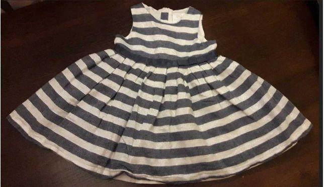Sukienka elegancka, wizytowa, święta, Cool Club Smyk rozmiar 74