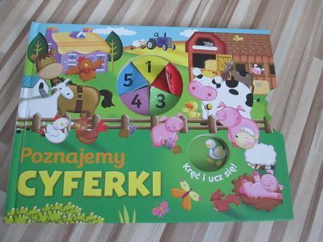 Poznajemy Cyferki książka dla dzieci