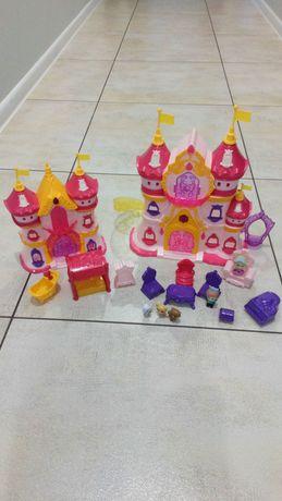 Zamek pałac rozkładany z akcesoriami , stan idealny , kompletny