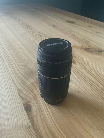 Obiektyw Canon 75-300 mm jak nowy teleobiektyw EF 4.0-5.6 III