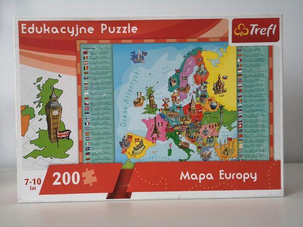 Edukacyjne Puzzle 200 elementów Trefl