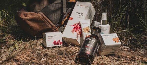 Wakacyjny Niezbędnik promocyjny zestaw Organic Life
