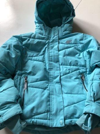 Kurtka 4F 122 6-7 lat zimowa narciarska dziewczęca