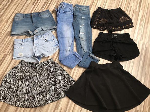 Paczka oryginalnych spodni i spódnic
