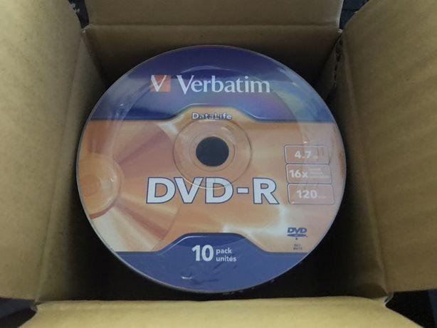 DVD-R Verbatim - 5 грн. шт.