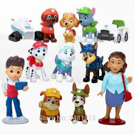 Zestaw figurek Psi Patrol z p Burmistrz figurki Psi Patrol zestaw