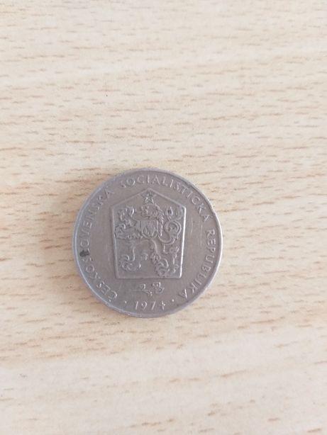 2 кроны Чехословакии 1974