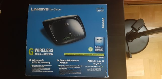 Router Linksys ADSL2