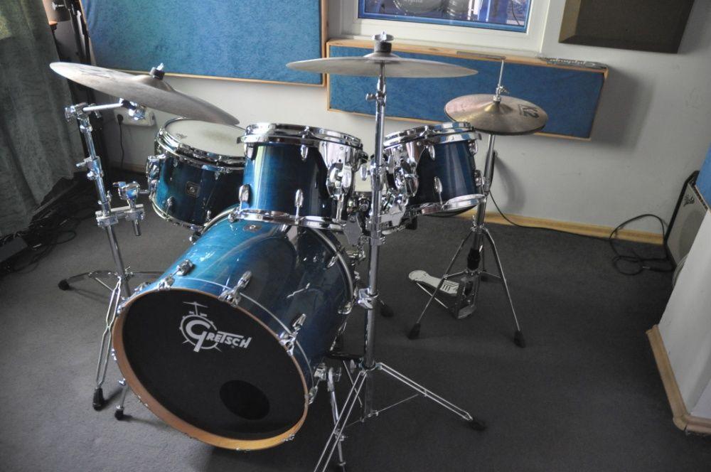 Gretsch Renown Maple perkusja USA+statywy+Twin+ talerze stop B20!