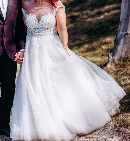 Niepowtarzalna, wyjątkowa suknia ślubna!