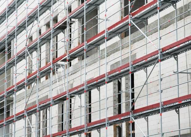 Rusztowanie fasadowe, elewacyjne wynajem, motaż-demotaż rusztowania