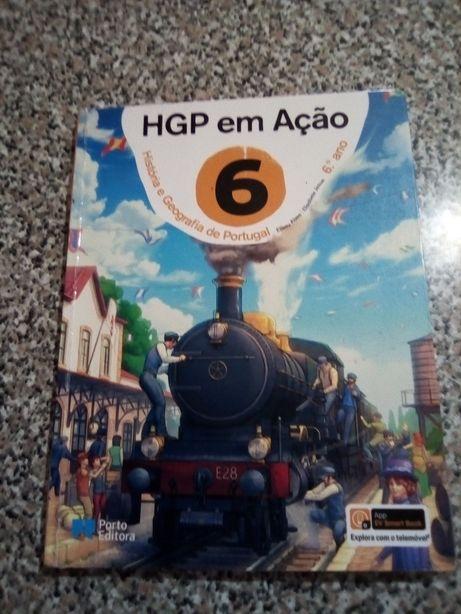 Livros escolares 6 Ano