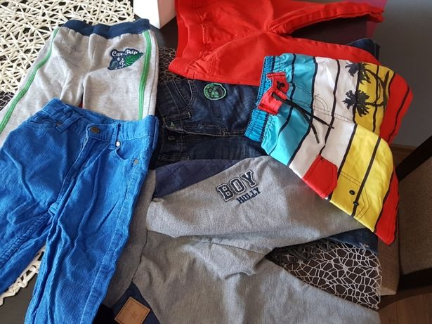 6 par spodni+spodenki rozm.80/86