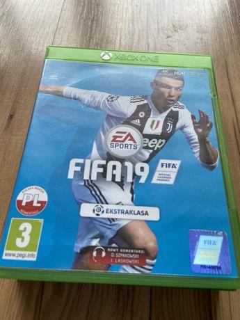 Gra Fifa 19 Xbox One jak nowa