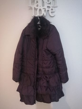 Kurtka płaszcz zimowy 158