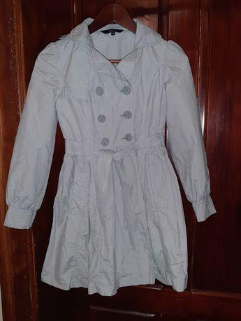 Trencz dla dziewczynki - płaszczyk