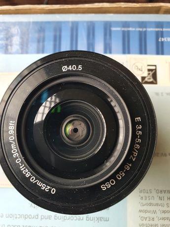 Sony 16-50  3.5- 5.6 pz oss obiektyw E FE
