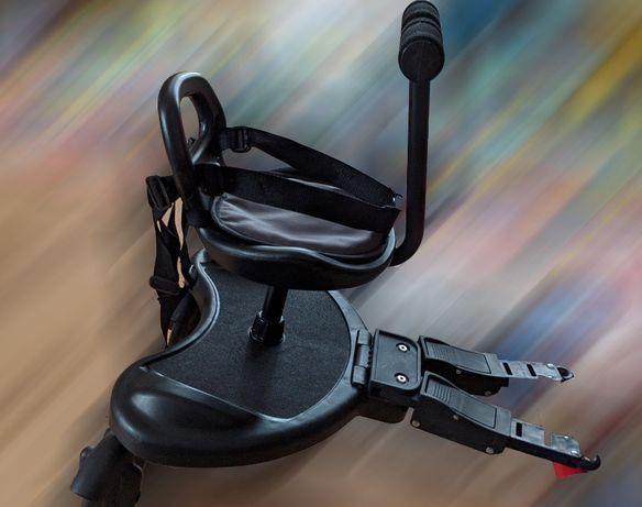 Dostawka do wózka z siedziskiem 2 w 1