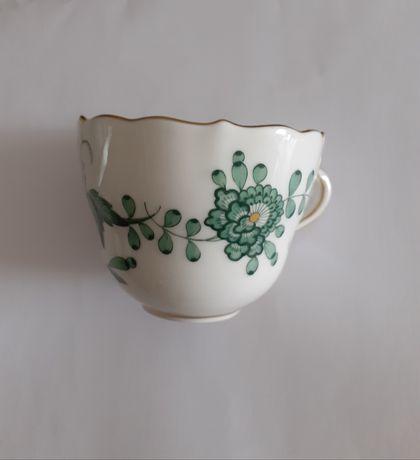 Conjuntos raros e antigos de chávenas e pires da Meissen