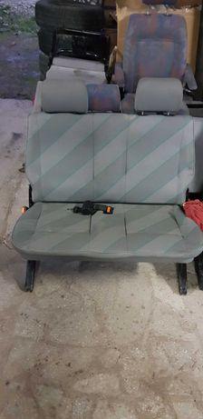 Vw t4 fotel kanapa  podwojna drugiego rzedu siedzenie