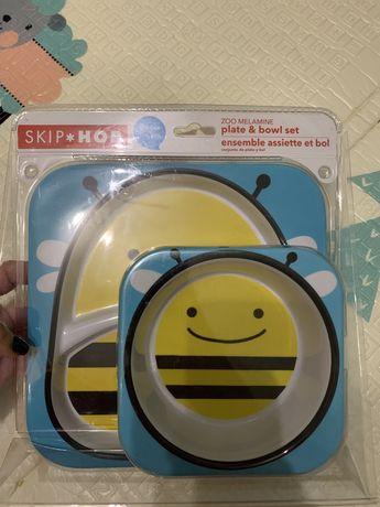 Набір посуду Skip-Hop бджілка