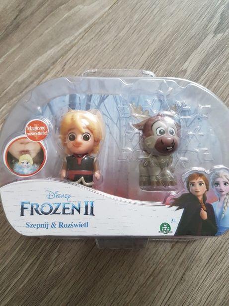 Frozen II figurki szepnij i rozświetl Kristoff i Sven Nowe