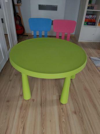 Zestaw dziecięcy krzesła plus stolik
