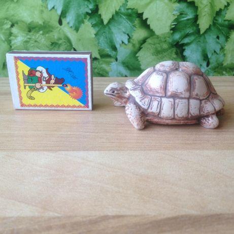 Статуэтка -подставка для палочек черепаха новая Ручная Работа глина