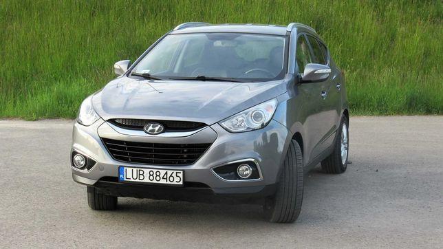 Hyundai ix35 2.0 CRDi 4x4 4WD, 168 tys km, Nawigacja