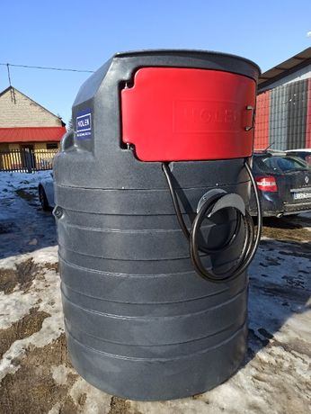 Dwupłaszczowy zbiornik 1500l olej napędowy ON ropę