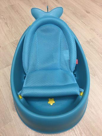 Детская ванночка для купания Skip Hop кит для новорождённых