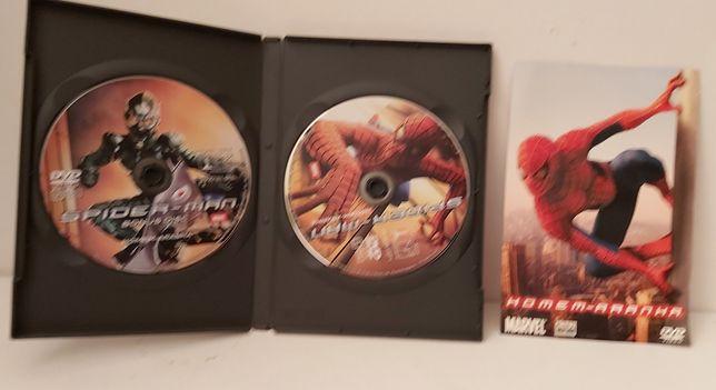 O homem aranha da MARVEL Dvd duplo
