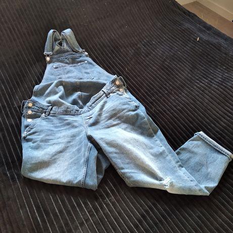 Spodnie ogrodniczki ciążowe H&M