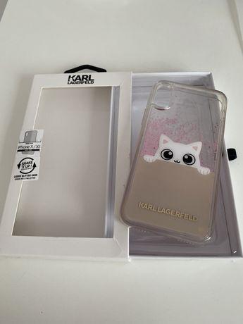 Etui Karl Lagerfeld iPhone Xs