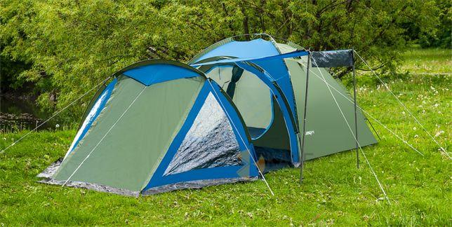 Палатка туристическая SOLITER 4 двухслойная новая