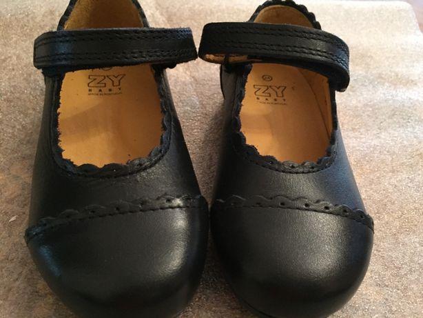 Sapatos n.24 em pele Zippy novos