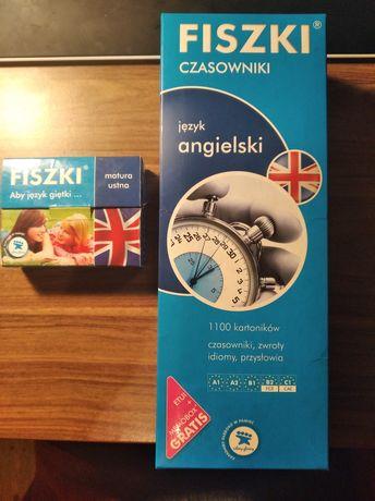 Fiszki czasowniki angielski 5 poziomów + zwroty do matury