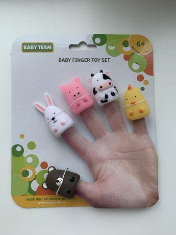 Набор игрушек на пальцы Baby Team «Веселая Ферма»