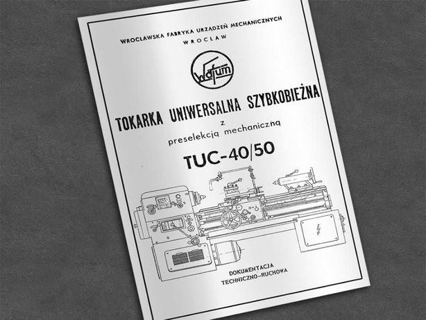 Tokarka TUC 40 / 50 - DTR