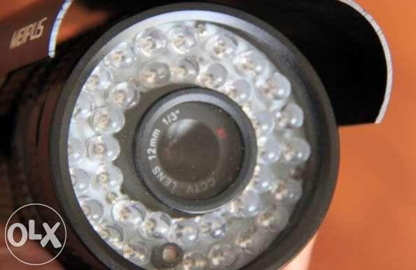 Camera cctv de longo alcance lente 12mm / 16mm camara visão nocturna d