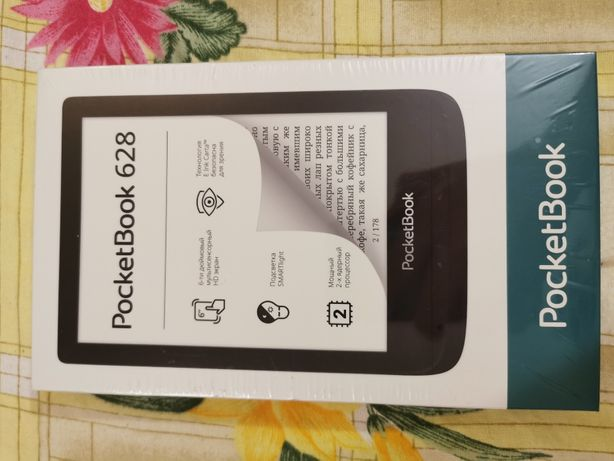 Электронная книга PocketBook 628 Black 12000руб
