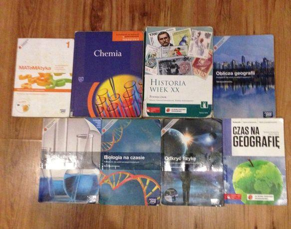Podręczniki, książki do liceum i technikum