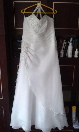 Suknia ślubna róż 44