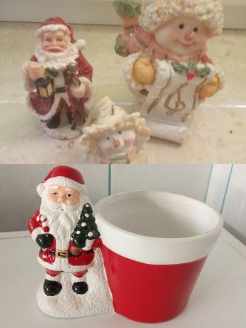Figurki świąteczne (całość 30 złotych)