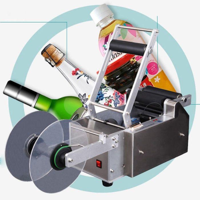 Rotuladora para garrafas, frascos e outros vasilhames Barrô E Aguada De Baixo - imagem 1