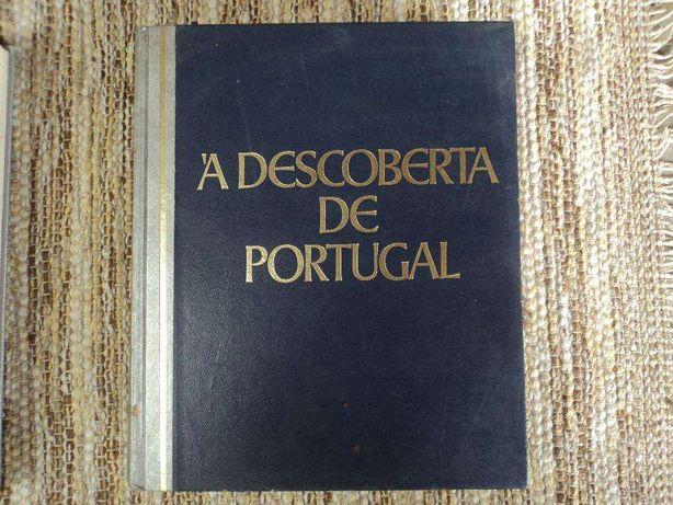 Livro antigo A Descoberta de Portugal